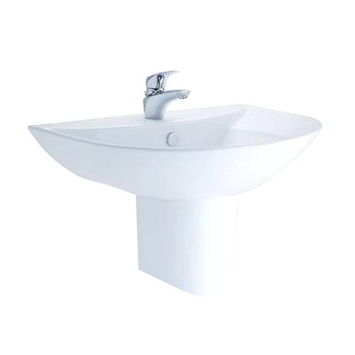 Basin with Pedestal - Cotto - Basin/Lavatory - Bathroom Products ...